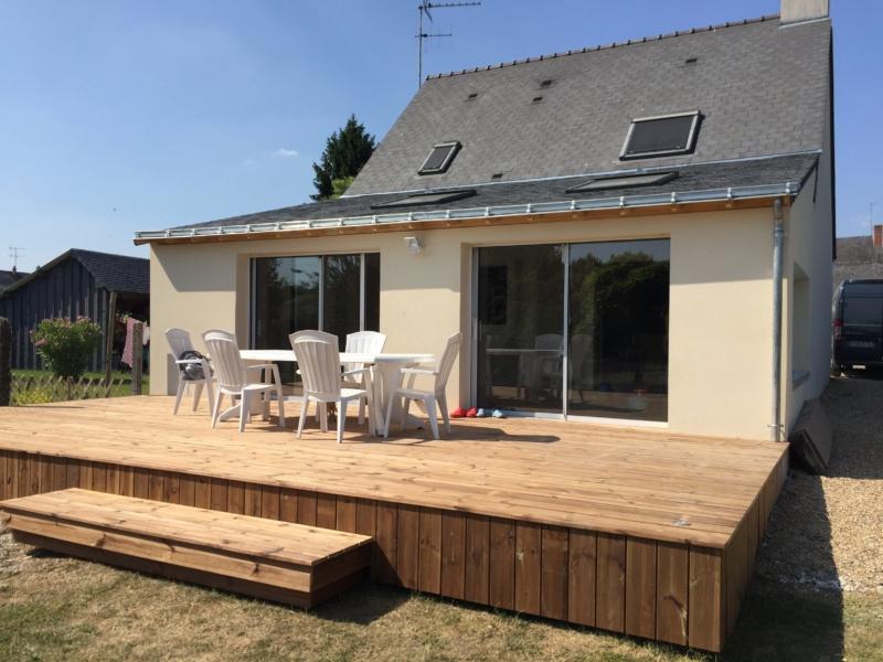 Réalisation d'agrandissement avec terrasse bois