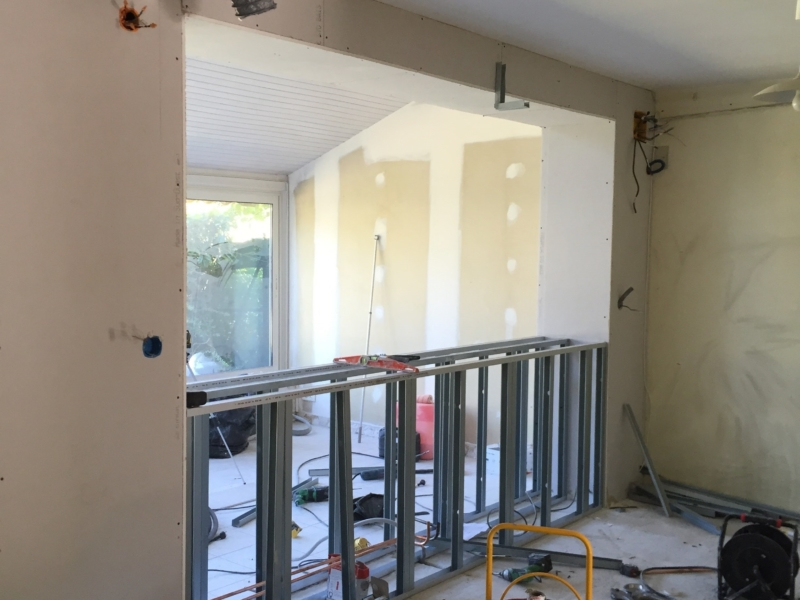 Modernisation d'une maison